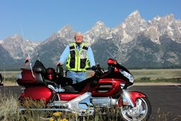 Bob at Grand Tetons, 2015